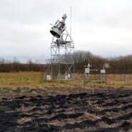 20-11-2019: Biochar test-site near ELBARA
